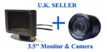 "Video Parking Reversing kit 3.5"" LCD & Nightview Camera"